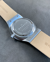 Eulit - Nappa Design - white - leather strap