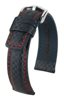 Hirsch Carbon - black / red