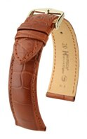 Hirsch Genuine alligator - golden brown
