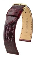 Hirsch Genuine croco - wine red