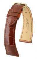 Hirsch London - goldbrown shiny aligator