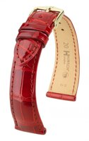 Hirsch London - red shiny aligator