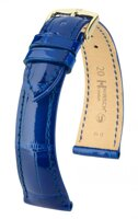Hirsch London - royal blue alligator