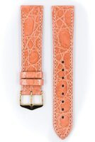 Hirsch Genuine croco - pink
