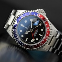 Steinhart GMT-OCEAN 1 BLUE RED automatic watch