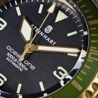 Steinhart Ocean One Bronze green