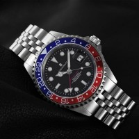 Steinhart GMT-OCEAN 1 BLUE RED.2 automatic watch