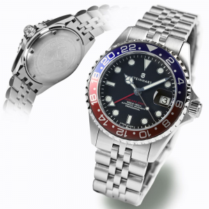 Steinhart GMT-Ocean One 39 Blue-red II